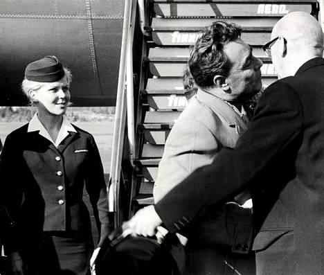 Leonid Brežnev ja Urho Kekkonen 1961.