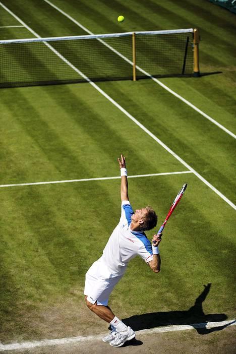 Wimbledon toimi Lontoon olympialaisten tennispyhättönä