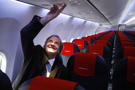 Norwegian Airin entinen toimitusjohtaja Bjørn Kjos