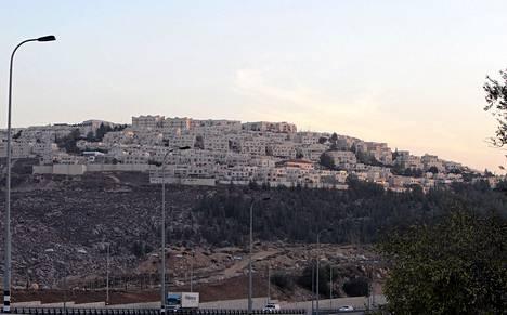 Israel ilmoitti lokakuussa aikeistaan rakentaa 1 500 asuntoa Itä-Jerusalemin Ramat Shlomo -siirtokuntaan.