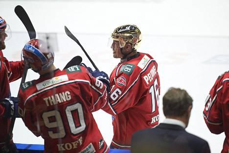 Ville Peltonen pelasi viimeisen Liiga-ottelunsa HIFK:n paidassa 11. maaliskuuta 2014.