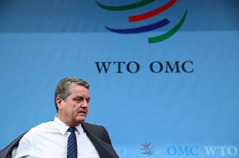 Roberto Azevêdo on ollut WTO:n pääjohtaja vuodesta 2013 lähtien. Hänen on määrä jättää tehtävänsä elokuun lopussa.