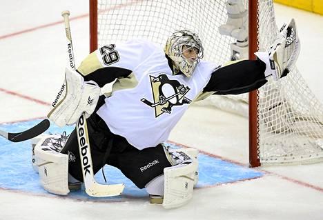 Marc-Anthony Fleuryn uran huipentuma on tähän mennessä ollut Stanley Cupin voittaminen Pittsburgh Penguinsin riveissä vuonna 2009.