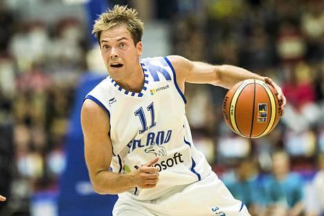 Petteri Koponen aloitti Venäjän sarjan vahvasti.