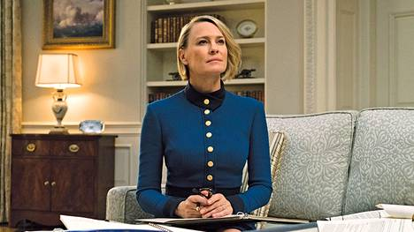 House of Cardsin viimeinen tuotantokausi keskittyy Robin Wrightin näyttelemän Claire Underwoodin tarinaan.