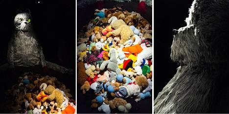 Ilai Elias Lehdon teos Luento teddykarhuille patriarkaatin vaaroista on esillä Project Roomissa Lönnrotinkadulla.