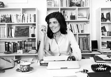 Susan Sontag (1933–2004) Ranskassa marraskuussa 1972.