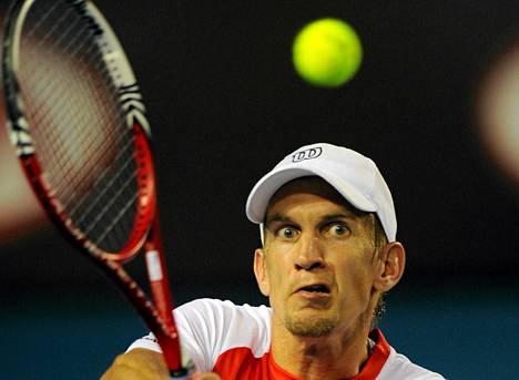 Jarkko Nieminen kohtaa Montpellierin turnauksen kierroksella Ranskan Gael Monfilsn (ATP-13).