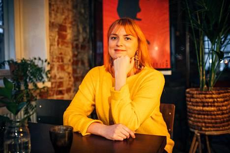 Laura Walden asuu mielellään Lahden urbaanissa keskustassa. Hän on ihastunut kaupunkilaisten, yritysten ja kulttuurin Malski-keskukseen.