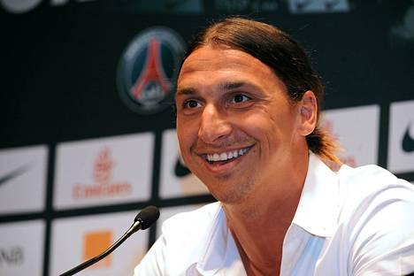 Zlatan Ibrahimovic´ siirtyi hiljattain pariisilaiseen PSG:hen. Sirtosumma oli noin 20 miljoonaa euroa.