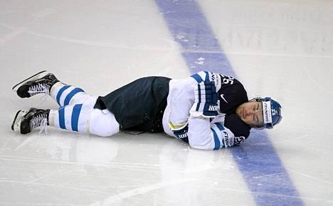 Pekka Jormakan Venäjä-peli päättyi aivotärähdykseen.