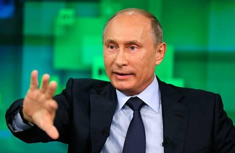 Venäjän presidentti Vladimir Putin
