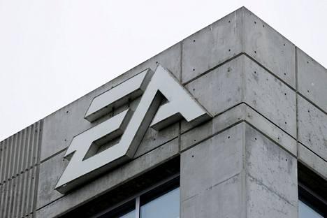 Peliyhtiö Electronic Artsin toimitalo Los Angelesissa.