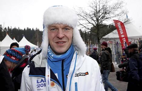 Toni Nieminen osallistui viime talvena vieraana Lahden MM-kisoihin.