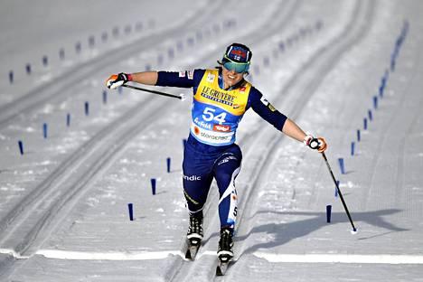 Krista Pärmäkosken vauhti riitti tiistaina neljänteen sijaan.