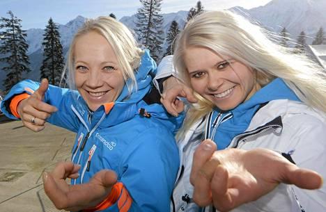Kaisa Mäkäräinen ja Mari Laukkanen osallistuvat sunnuntaina ampumahiihdon olympiasprinttiin.