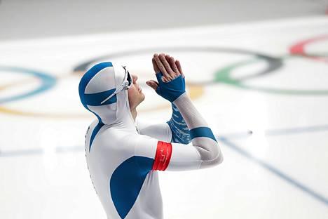 Mika Poutala jäi täpärästi neljänneksi miesten 500 metrin pikaluistelussa.
