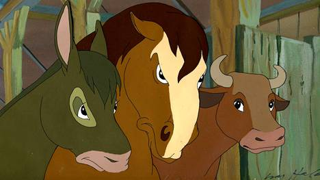 Eläinten vallankumous -elokuvan animaatiojälki on kaunista.