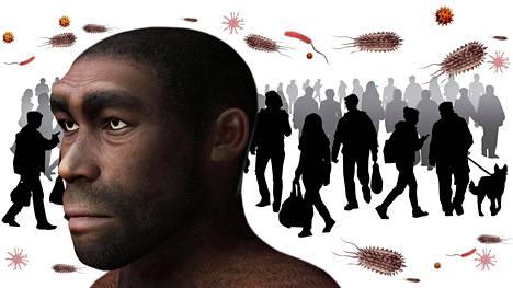 Papilloomavirus siirtyi nykyihmisiin neandertaleilta.