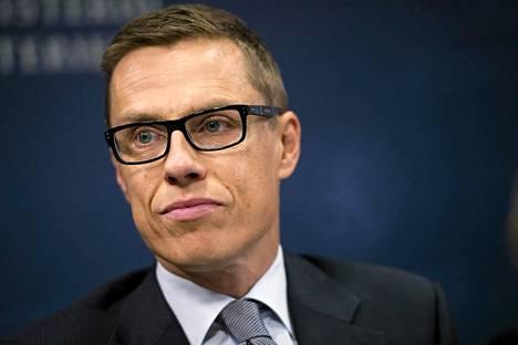 Eurooppa- ja ulkomaankauppaministeri Alexander Stubb