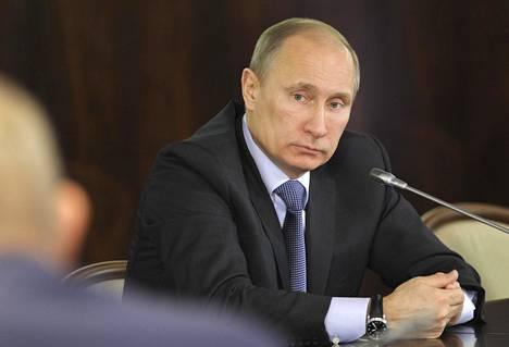 Putin vuonna 2012.