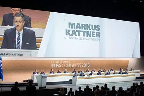 Entinen Fifa-johtaja Markus Kattner suljettiin kaikesta jalkapallotoiminnasta kymmeneksi vuodeksi.