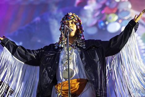 Erykah Badun vuosituhannen vaihteessa levyttämät kappaleet ovat edelleen ajankohtaisia.