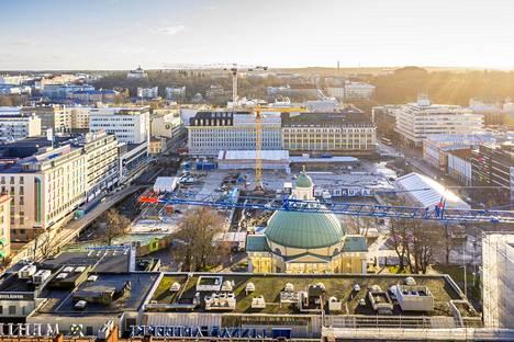 Turun kauppatori sijaitsee jatkossakin Turun keskustassa, ei Turku Centerissä.