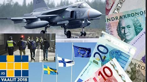 Ruotsin vaalien vaikutus ulottuu Suomeenkin ainakin maanpuolustuksessa, maahanmuutossa, taloudessa ja EU-yhteistyössä.