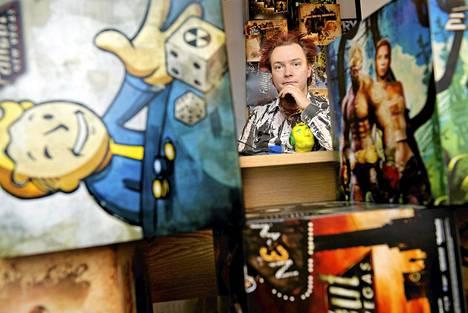 Jussi Autio on opiskellut humanistisessa tiedekunnassa, mutta nykyään hän tekee työtä pelien parissa.