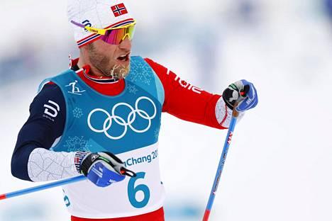 Norjan Martin Johnsrud Sundby edustaa ehkä selvimmin uudenlaista vapaan hiihtotavan tekniikkaa käyttävää hiihtäjää.