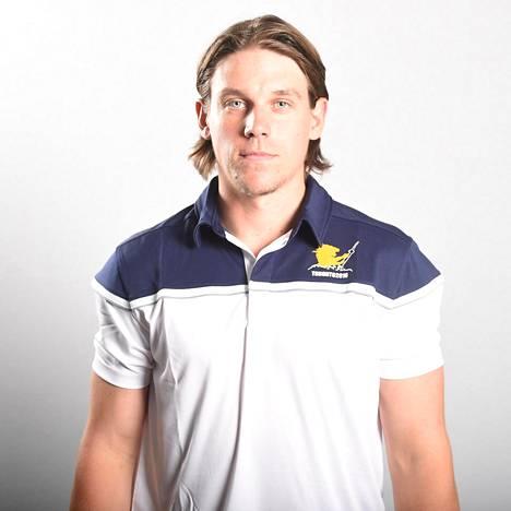 Erik Haula edusti Suomea viime syksyn World Cupissa