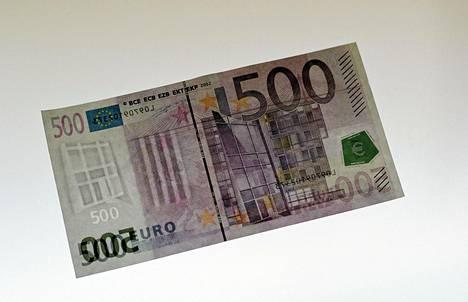 500 Euron Seteli Poistuu