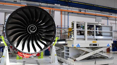 Airbus-lentokoneisiin tehdään Britanniassa muutamia osia, muun muassa moottoreita Rolls-Roycen tehtaalla Derbyssä.