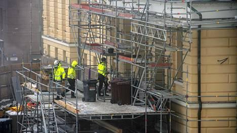YIT vastaa Helsingin yliopiston päärakennuksen korjausurakasta Helsingin keskustassa.