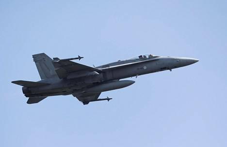 Ilmavoimien Hornet-hävittäjien elinkaari päättyy ensi vuosikymmenen lopulla.