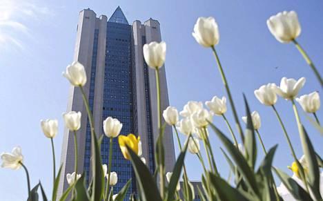 Gazpromin pääkonttori Moskovassa.