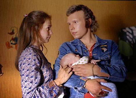 Ganes-elokuvassa Leena Pöysti näytteli vuonna 2007 Eero Milonoffin kanssa.