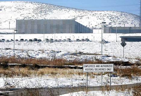 NSA:n datakeskus Bluffdalessa Utahissa.