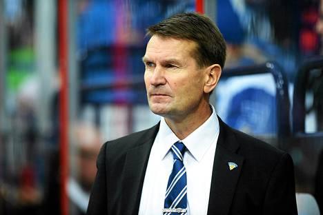 Suomen jääkiekkomaajoukkueen valmentaja Erkka Westerlund
