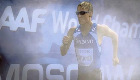 Kävelijä Veli-Matti Partasen MM-urakka päättyi pettymykseen. Helsinkiläinen simahti täysin ja jäi sijalle 41.