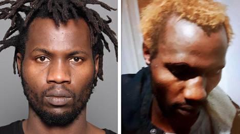 Poliisi julkaisi kaksi kuvaa etsitystä miehestä.