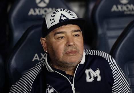 Diego Maradona kuoli viime marraskuussa.