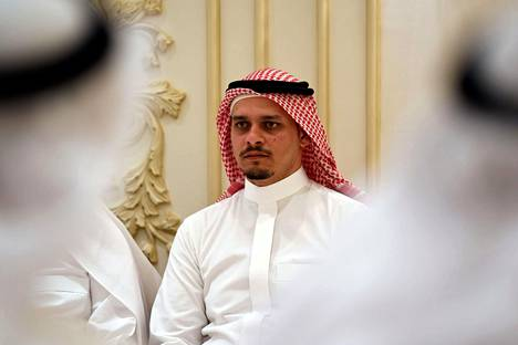 Murhatun kolumnistin Jamal Khashoggin poika Salah marraskuussa 2018.