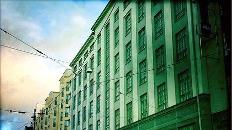 Tässä talossa A. I. Virtanen asui ja työskenteli laboratoriossaan.