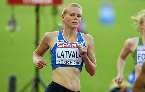 Hanna-Maari Latvala sivusi ennätystään ja selvisi EM-finaaliin.