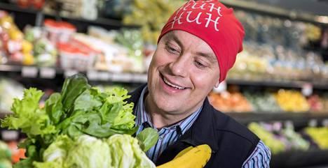 Jukka Huttunen alkoi vähitellen pitää vihreistä vihanneksista ruokalautasellaan.