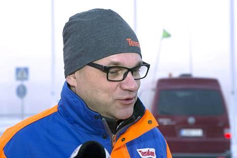 Pääministeri Juha Sipilä vieraili Talvivaaran kaivoksella Sotkamossa 14. marraskuuta.