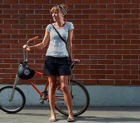 Helsinkiläinen Aino Korpela sai varastetun polkupyöränsä nopeasti takaisin sosiaalisen median avulla.