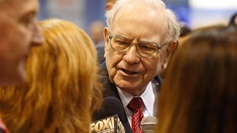 Warren Buffett kertoi lauantaina yhtiönsä tuloksesta.
